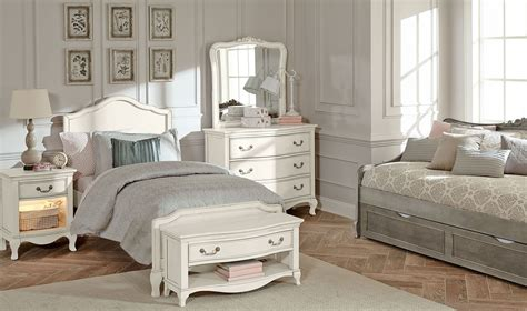 kensington antique white charlotte youth panel bedroom set