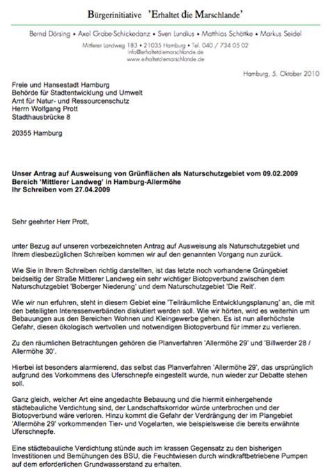 Antrag Briefwahl Hamburg 2010 Wiederholung Des Antrages Auf Ausweisung Eines Narurschutzgebietes Erhaltet Die
