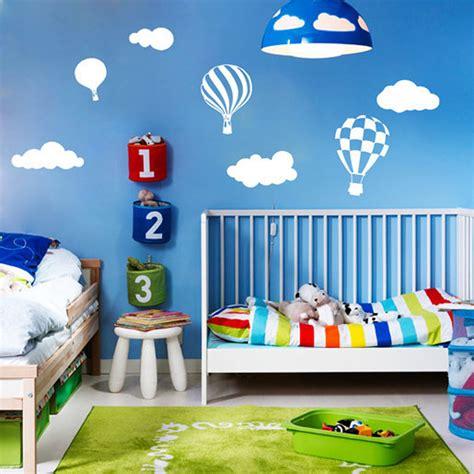air balloon home decor air balloon cloud sticker wall stickers home decor home decoration wall decals for boy s