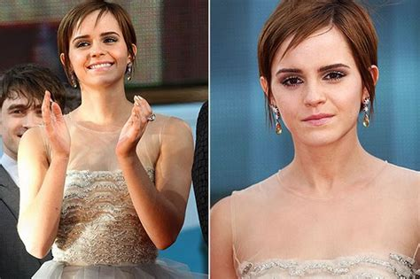 emma watson pinky ring emma watson reveals she s taking a breather and looking