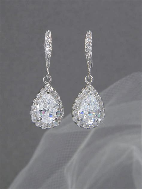 bridal earrings pastal names