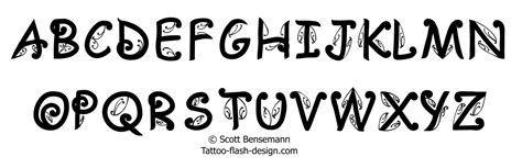 Tattoo Fonts Nz | maori tattoo font alphabet artistic expression