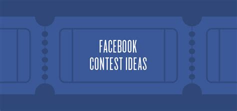 Giveaway Ideas For Facebook - facebook contest ideas for your business sprout social