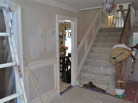 wainscoting gallery monk s home improvements recessed wainscoting installation and painting chester