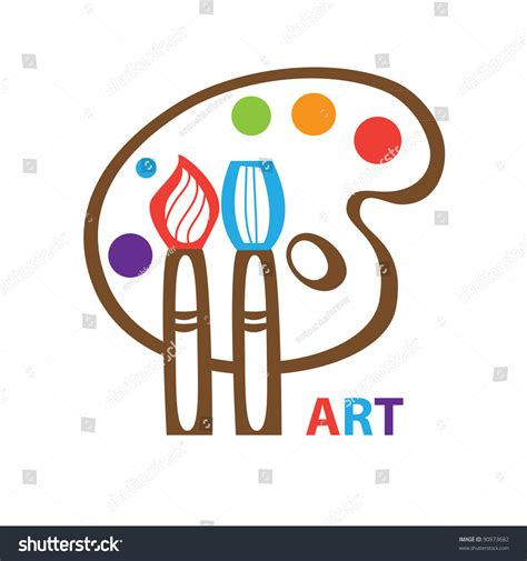 Kitchen Design Simple by Template Icon Art Symbol Art Vector Stock Vector 90973682
