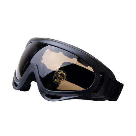 Kacamata Safety Lensa Focus Ukuran Stok jual ormano kacamata safety airsoft goggle paintball glasses coklat harga kualitas