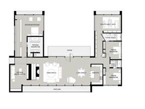 l shaped house plans with courtyard | house plans
