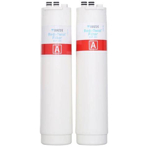 brita sink water filter brita redi twist osmosis replacement filter set