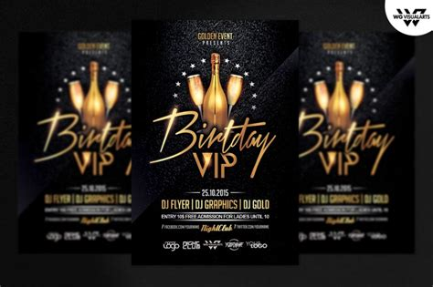 50th birthday flyer template free 30 best flyer template psd business corporate birthday and club flyer graphic cloud