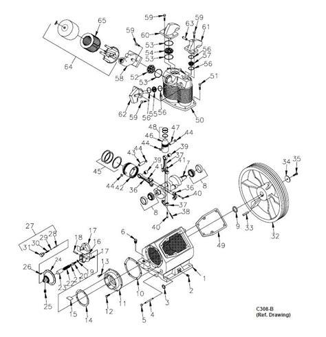 chion compressor parts diagram gas downloaddescargar