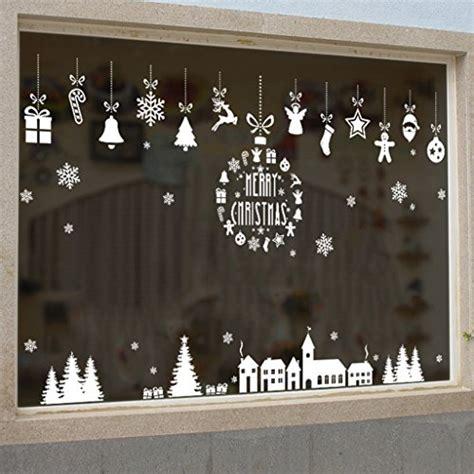 Fensteraufkleber Schaufenster by Lqz Weihnachten Fensterbild Fenstertattoo Festersticker