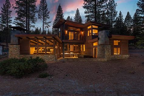 Contemporary Modern Homes gallagher construction martis camp lot 365 gallagher