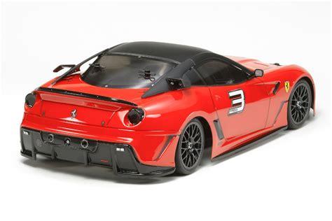 Ferari 599xx Assembly Kit tamiya 599xx tt 01e 58510