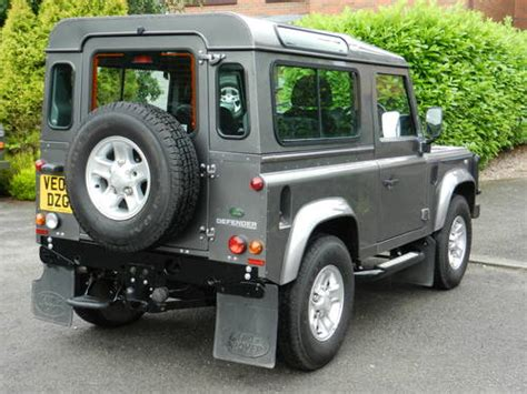 land rover defender 90 for sale for sale 2007 07 land rover defender 90 tdci xs station