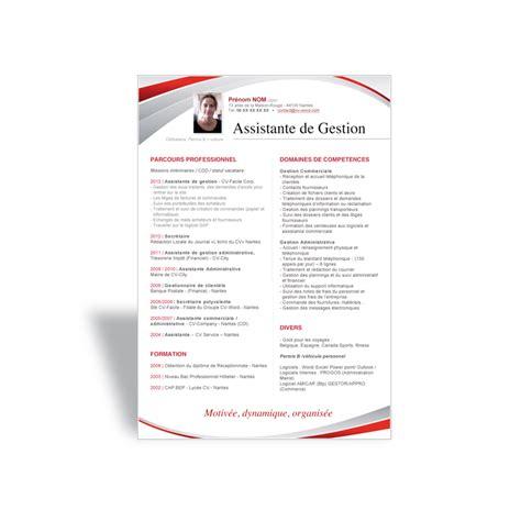Modèle De Lettre De Démission Secrétaire Ce Resume Format Mod 232 Le Cv Assistant De Direction