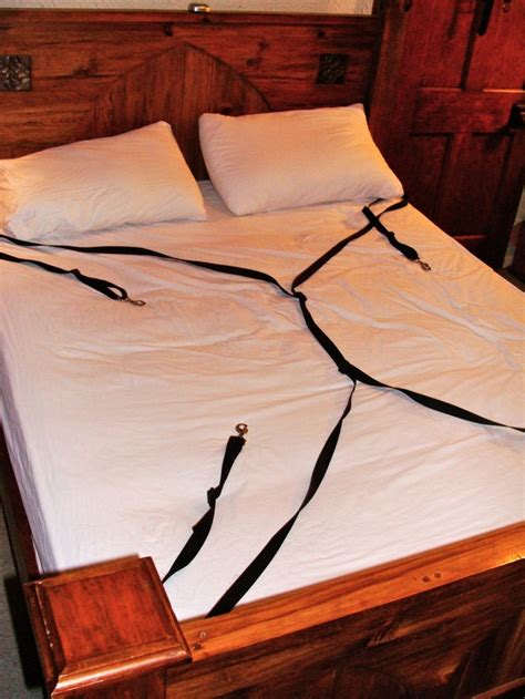 bed restraint diy under bed restraints finished bed chambers pinterest