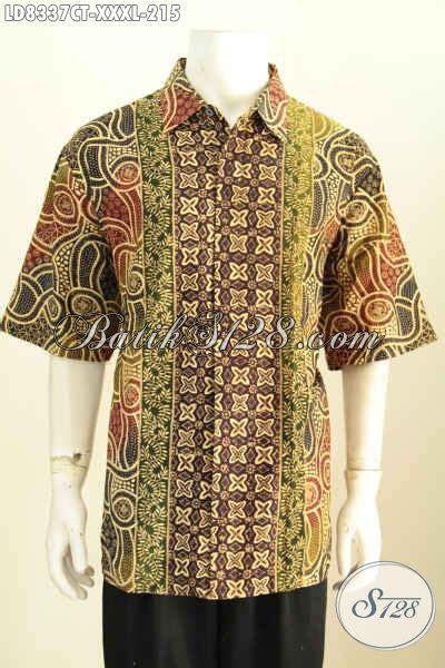 desain baju batik casual sedia baju batik casual untuk pria ukuran 4l hem batik