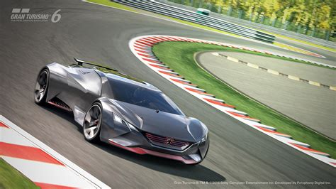 Schnellstes Auto Real Racing 3 by Peugeot Vision Gran Turismo Les Concept Cars Peugeot