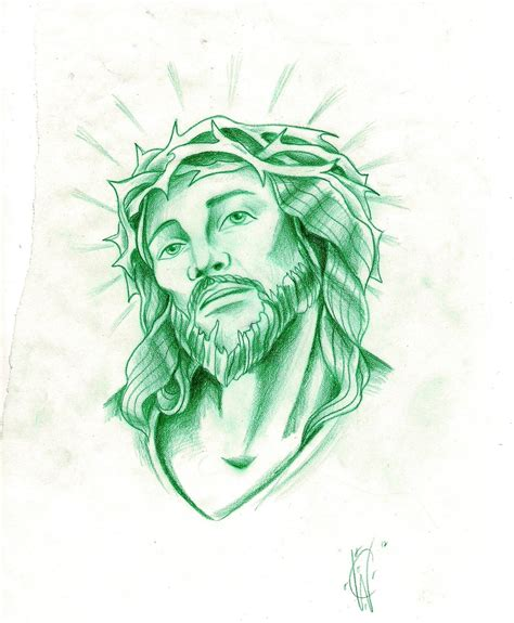 jesus face tattoos design jesus sketch by xxxgrapejuicexxx on deviantart