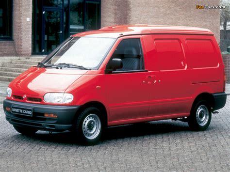 nissan vanette new model nissan vanette cargo c23 1995 2001 images 800x600