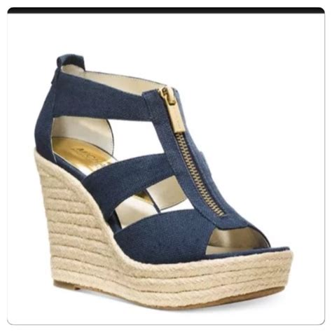 50 michael kors shoes michael kors quot damita quot navy