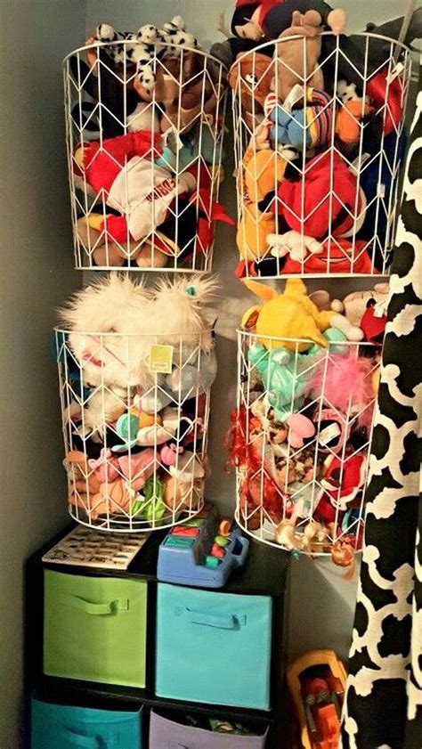 top 10 creative storage solutions for your stuff 25 best ideas about organizing stuffed animals on
