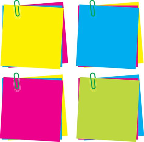 color notes colorful sticky notes with quotes quotesgram