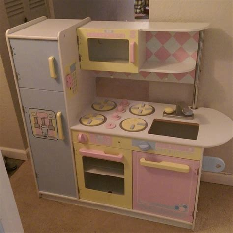 modern play kitchen diy modern play kitchen makeover for less than 20