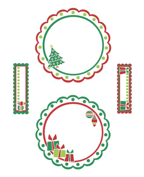 printable stickers for cds free christmas mailing label template search results