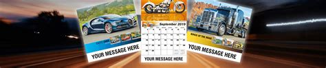 Comda Calendars Car Truck And Motorcycles Promotional Calendars By Comda