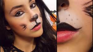 Last minute cat halloween makeup tutorial youtube