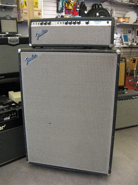 fender bassman 100 4x12 cab 1975