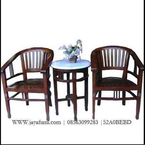 Kursi Betawi 1 Set kursi teras betawi jati set dan meja jayafurni mebel