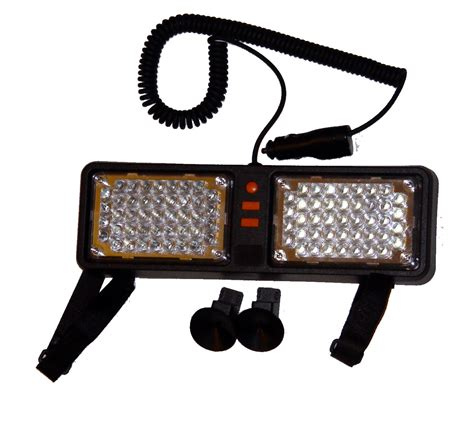 and white led strobe light led dashboard warning lights white white car strobe light