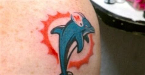 miami dolphins tattoo miami dolphins ideas and ink