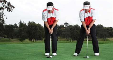 narrow stance golf swing how to stay on the narrow and straight with a putter