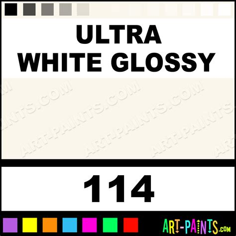 Ultra Tinder Jump White Line ultra white glossy glazes ceramic paints 114 ultra