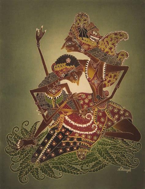 Kebaya Batik Copel Rama Sinta 20 best images about modern batik painting on black backgrounds borobudur and blue and