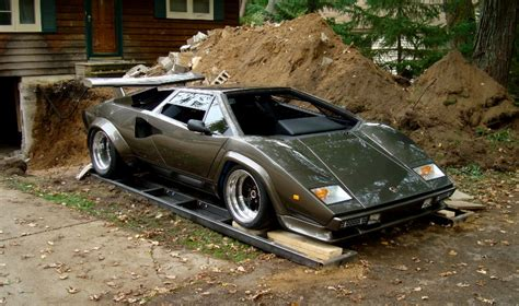 Lamborghini Built In Basement Diy Metal Fab Replica Lamborghini Built In Home Basement