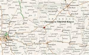 map of texarkana texas texarkana regional airport location guide