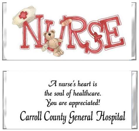 nurses week flyer templates appreciation wrappers favors custom