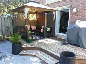 Patio Sets For Small Decks outdoor gazebo for small yard patio furniture patio
