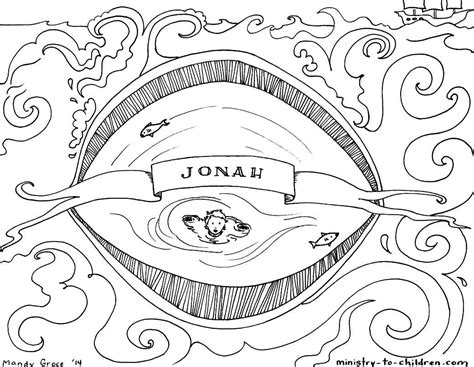 bible coloring pages jonah jonah and the whale bible story coloring pages coloring home