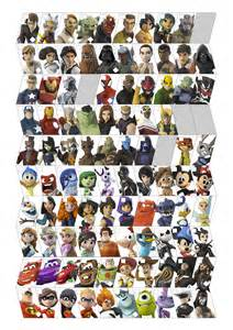 All The Disney Infinity Characters Disney Infinity By Ravenoth The Brave On Deviantart
