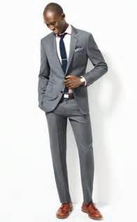 grey suit, black tie, brown shoes   misc.   Pinterest