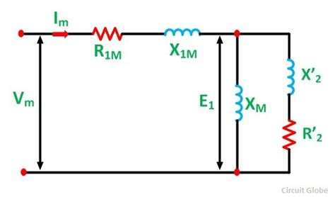 equivalent circuit of a single phase induction motor