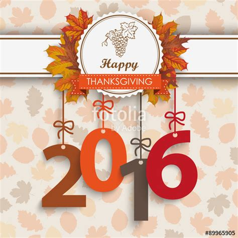 quot 2016 foliage thanksgiving emblem quot stock image and royalty free vector files on fotolia com