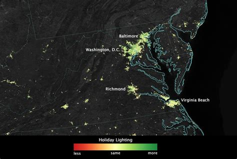 nasa satellites spot garish christmas decorations from