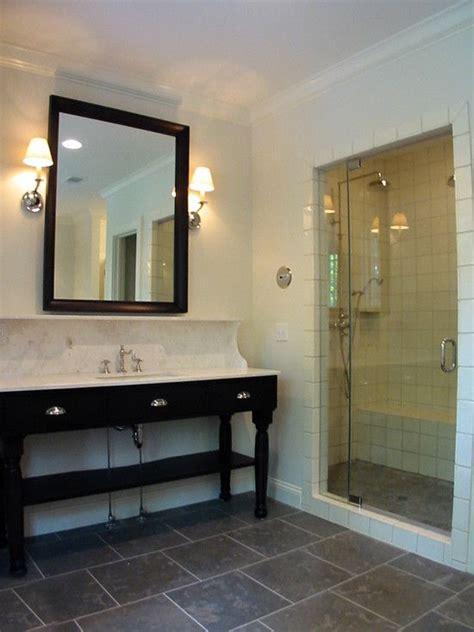 black slate bathroom floor 11 best ideas for guest bathroom w black slate floor