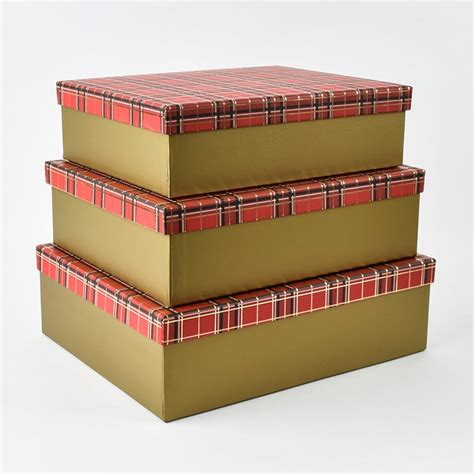 Small Gift Boxes Card Factory - christmas tartan gift boxes card factory